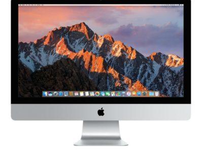"Apple 27"" iMac, Retina 5K Display, 3.8GHz Intel Core i5 Quad Core, 8GB RAM, 2TB Fusion Drive"
