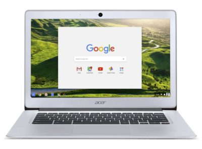 Acer Chromebook 14, Aluminum, 14-inch Full HD, Intel Celeron Quad-Core N3160, 4GB LPDDR3, 32GB